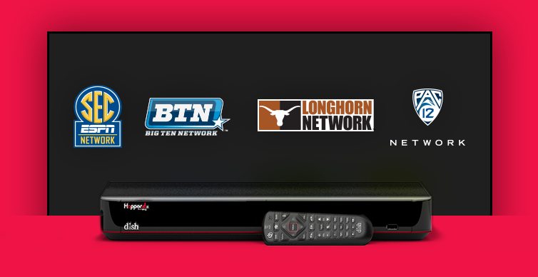 DISH College Sports TV Packages - Bakersfield, California - Cellular Plus - DISH Authorized Retailer