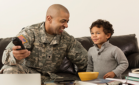 Military and veteran TV Deals with Cellular Plus